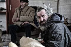 homeless photos stock