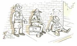 Homeless Royalty Free Stock Photo