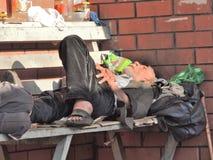 homeless Foto de archivo libre de regalías