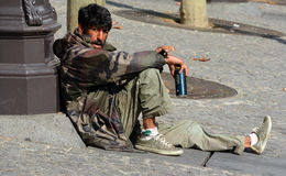 homeless Image libre de droits