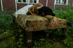 homeless Fotografía de archivo libre de regalías