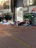 homeless Fotografía de archivo