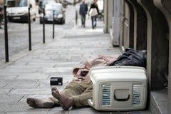 homeless Fotos de archivo libres de regalías