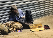 homeless Fotografia Stock