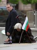 Homeless beggar poverty Stock Image