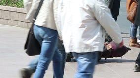 Homeless stock video