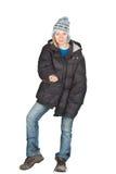 Homeless girl. Royalty Free Stock Images