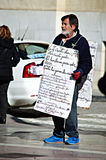Homeless in Huelva 22 Stock Image