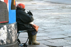 Homeless I royalty free stock photos