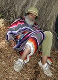 Homeless Interracial Hobo Stock Image