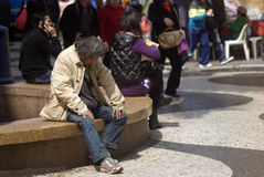 Homeless, Macao Stock Images