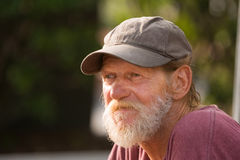 Homeless man Royalty Free Stock Image