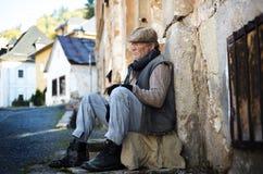 Homeless man Stock Photos