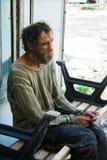 Homeless man Royalty Free Stock Image