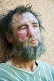 Homeless man Stock Photography