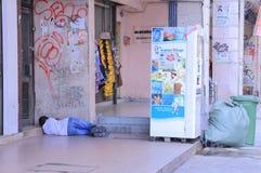 Homeless man Malaysia Stock Photography