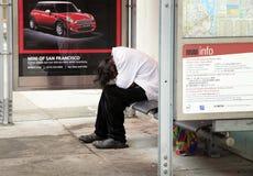 Homeless man Stock Images
