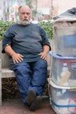 Homeless man Royalty Free Stock Photos