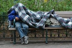 Homeless men. Stock Images