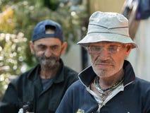 Homeless men Stock Photos