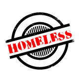 Homeless rubber stamp Royalty Free Stock Photo