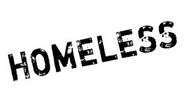 Homeless rubber stamp Royalty Free Stock Photography