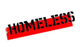 Homeless rubber stamp Royalty Free Stock Photos