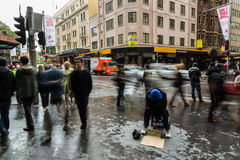 Homeless in Sydney Royalty Free Stock Photography