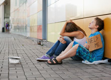 Homelessness Royalty Free Stock Image