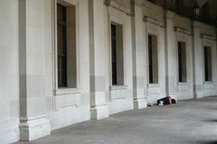 homelessness Arkivfoton
