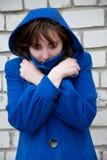 Homelessness woman Stock Image