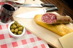 Homelike italian appetizer Stock Image