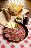 Homelike italian appetizer Royalty Free Stock Photo