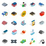 Homely icons set, isometric style. Homely icons set. Isometric set of 25 homely vector icons for web isolated on white background Stock Photo