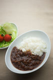 Homely Japanese curry Stock Photography
