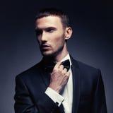 Homem à moda considerável Imagem de Stock Royalty Free