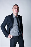Homem à moda considerável Fotos de Stock Royalty Free