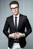 Homem à moda considerável Foto de Stock Royalty Free