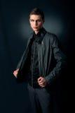 Homem à moda elegante Imagem de Stock Royalty Free