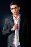 Homem à moda elegante Fotografia de Stock Royalty Free
