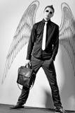 Homem à moda elegante Fotografia de Stock