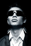 Homem à moda elegante Imagem de Stock