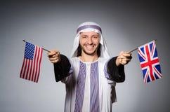 Homem árabe Imagem de Stock