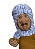 Homem árabe Foto de Stock Royalty Free