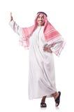 Homem árabe isolado Fotografia de Stock