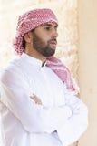 Homem árabe novo fotografia de stock