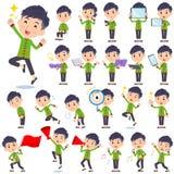 Homem étnico chinês 2 da roupa Fotos de Stock