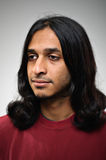 Homem étnico indiano no perfil Imagens de Stock