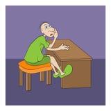 Homem ilustração do vetor