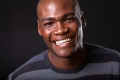 Homem africano considerável fotografia de stock royalty free
